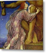The Worship Of Mammon Metal Print by Evelyn De Morgan