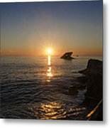 The Wreck Of The Atlantus - Cape May New Jersey Metal Print