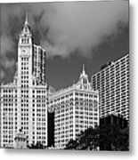 The Wrigley Building Chicago Metal Print by Christine Till