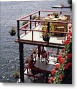The Wyker's Deck Metal Print