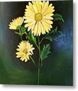 The Yellow Daisy Metal Print