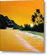 The Yellow Sea Metal Print