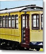 The Yellow Trolley Car Metal Print
