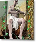 The Young Lover Metal Print