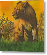 The Young Pretender Metal Print