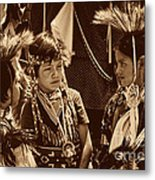 The Young Warriors - 2 Metal Print