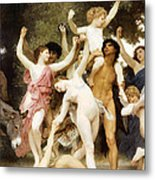 The Youth Of Bacchus Detail Metal Print