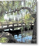 The Zen Bridge Metal Print
