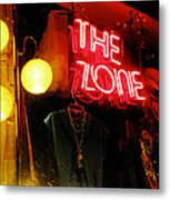The Zone Metal Print