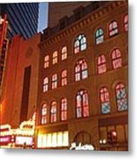Theater District Metal Print