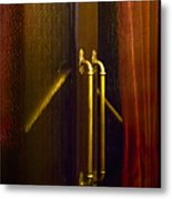Theater Doors Metal Print