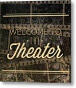 Theater Metal Print