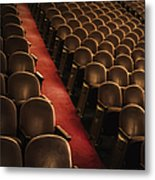 Theater Seats Metal Print