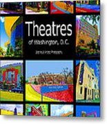Theatres Of Washington Dc Metal Print by Jost Houk