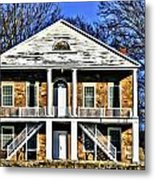 Thebes Courthouse Metal Print