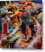 Their Spirit Is Among Us - Nanticoke Powwow Delaware Metal Print