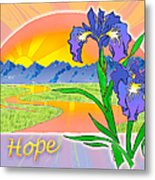 Themes Of The Heart-hope Metal Print
