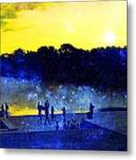 Then The Light Came Swiftly Metal Print