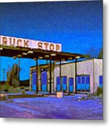 Then They Built The Interstate Metal Print