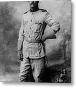 Theodore D Roosevelt 26th President Of The United States Of America  Metal Print by Anonymous