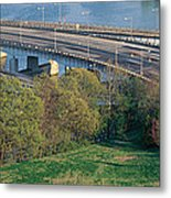 Theodore Roosevelt Bridge, Washington Metal Print