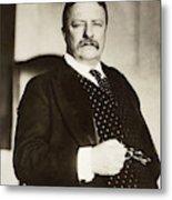 Theodore Roosevelt(1858-1919) Metal Print