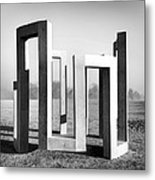 Theoretical Position Metal Print
