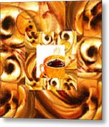 There Is A Coffee At The End Of The Tunnel  Metal Print