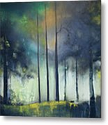 There Is Light At The End Of The Woods Metal Print