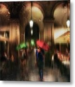 There Is Something In The Rain... Metal Print
