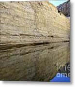 There Is Water In The Desert Metal Print