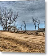 There Stands My Soul Metal Print
