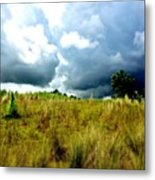 There's A Storm Brewing!!! #golf Metal Print