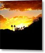 There's Gold In Them Thar Hills Metal Print