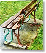 These Are No Snakes In The Grass Metal Print