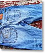 These Old Jeans Metal Print