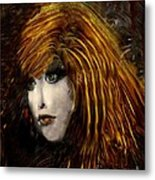 They Call Her Red Metal Print by Doris Wood