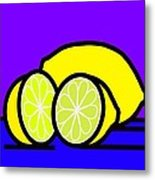They Call Me Mellow Yellow Metal Print by Kenneth North