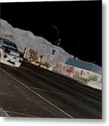 They Drive By Night Metal Print