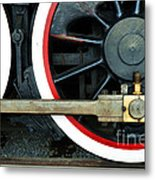 They Drive The Wheels Metal Print