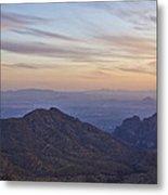 Thimble Peak At Sunset Metal Print