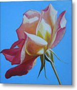 Things Are Coming Up Rosy Metal Print