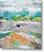 Thinking About Winter In Summer Time 2 Metal Print by Becky Kim