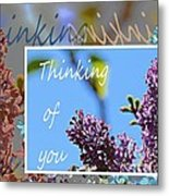 Thinking Of You 2 Metal Print