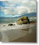Third Beach In Vancouver Metal Print
