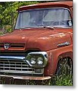 Third Generation Ford F 350 Metal Print by Robert J Andler