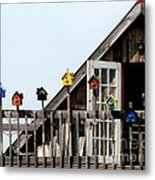 This House Is For The Birds Metal Print