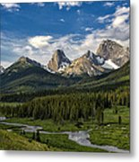 This Is Alberta No.27 - Spray Valley Peaks Metal Print