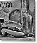 This Is Chicago Metal Print