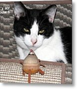 This Is My Mouse Metal Print